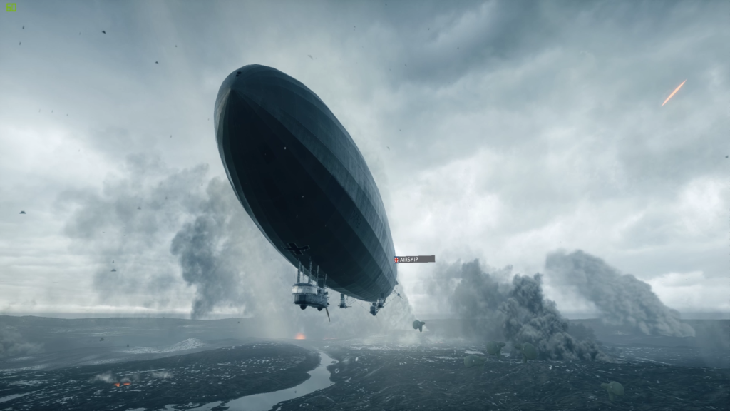 Battlefield One Zeppelin Entrance