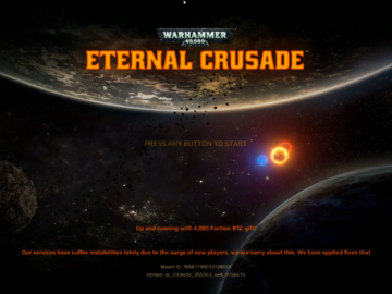 Eternal Crusade Title