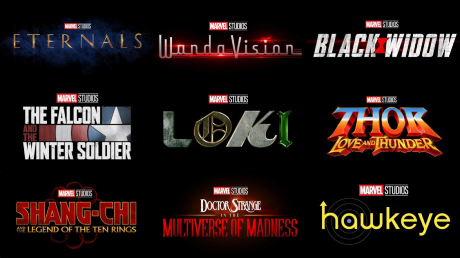 Marvel Phase 4 Titles